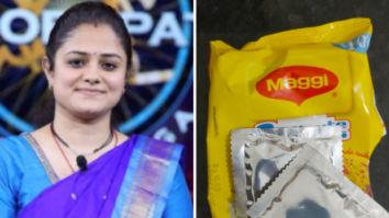 Kaun Banega Crorepati 12: KBC winner IPS Mohita Sharma finds extra sachet of Maggi masala in her packet; Twitter reacts