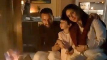 Kareena Kapoor Khan and Taimur Ali Khan celebrate Diwali with Saif Ali Khan in Dharamshala
