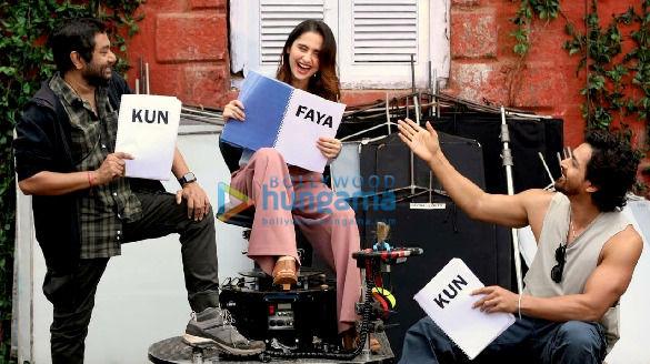 On The Sets From The Movie Kun Faya Kun
