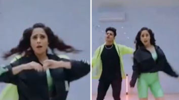 Nushrratt Bharuccha can't stop shaking a leg on her song 'Deedar De'