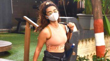 Patralekha spotted at Antigravity gym at Pali Hill Bandra