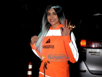 Photos: Adah Sharma spotted during promotions of her film Question Mark in Hyderabad
