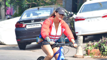 Photos: Aisha Sharma spotted cycling in Bandstand