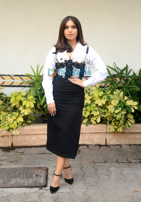 Photos Bhumi Pednekar snapped during Durgamati The Myth promotions at Sun n Sand hotel in Juhu (1)