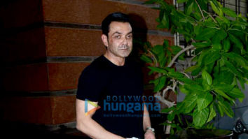 Photos: Bobby Deol and others snapped at success party for Aashram: Chapter 2