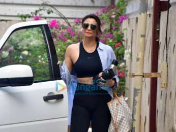 Photos: Daisy Shah spotted at gym