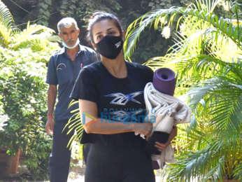 Photos: Malaika Arora spotted at Bandra