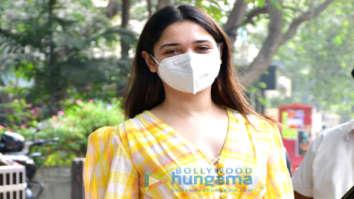 Photos: Tamannaah Bhatia spotted at clinic