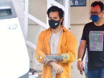 Photos: Varun Dhawan snapped while promoting Coolie No.1