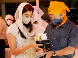 Pooja Hegde visits Gurudwara in Mumbai on the occasion of Gurpurab, shares photo