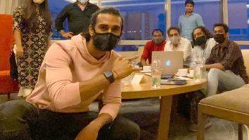 Pulkit Samrat starts the prep for his next film titled Suswagatam Khushamadeed