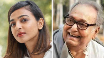 Radhika Apte expresses her grief on the demise of Ahalya co-star, Soumitra Chatterjee