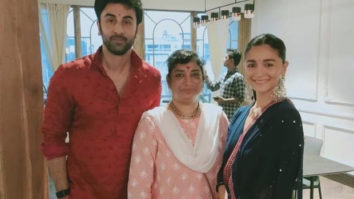Ranbir Kapoor and Alia Bhatt ditch the glam parties, opt for an intimate Diwali dinner