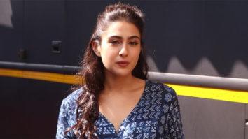 Sara Ali Khan spotted at Mehboob studio