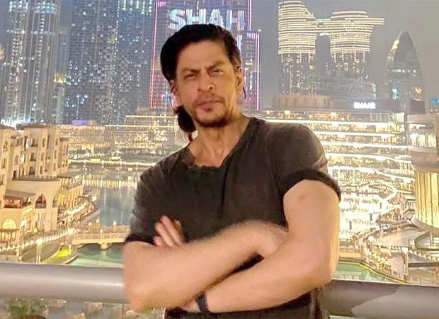 Shah Rukh Khan is ecstatic as Burj Khalifa dedicates a special birthday wish to him