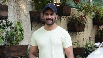 Sharad Kelkar spotted at Sunny super sound Juhu