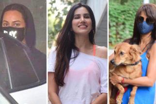 Spotted - Sonakshi Sinha, Sonali Sehgal, Vidya Malavade and Vikrant Massey at Bandra