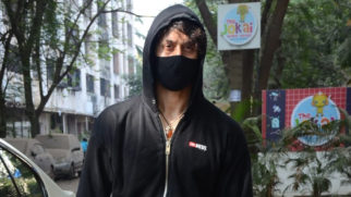 Tiger Shroff spotted at Avitesh Dubbing studio in Juhu