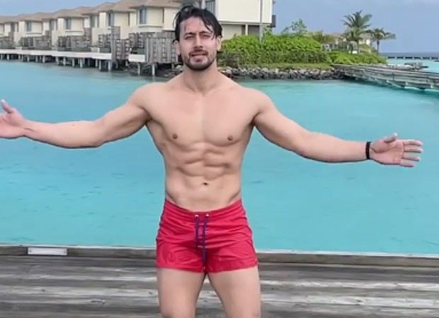 WATCH Red shorts clad Tiger Shroff does a flawless flip in the ocean in Maldives