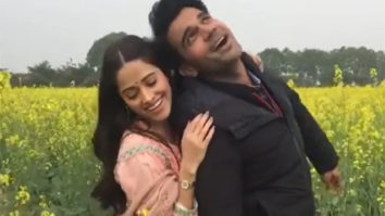 Nushrratt Bharuccha and Rajkummar Rao recreate the iconic scene from DDLJ