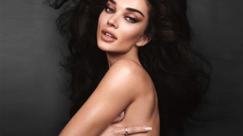 Amy Jackson spices up the lockdown with a topless picture