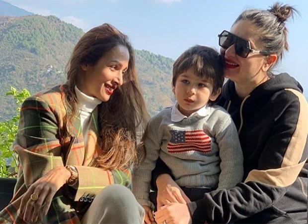 Malaika Arora shares a sun kissed picture with Kareena Kapoor Khan and Taimur