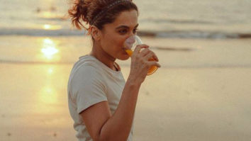 Taapsee Pannu reveals the ingredients of her natural fat burning powerhouse drink that she has been consuming during her athletic training