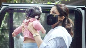 Shilpa Shetty's daughter Samisha's first pictures goes viral on social media