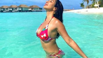 Sophie Choudry has immersed into the vacation mode as she shares a sunkissed picture