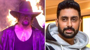 As The Undertaker says his final Farewell, actor Abhishek Bachchan calls him an absolute legend