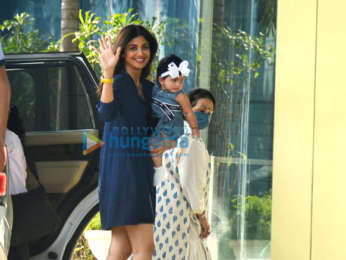 Photos: Shilpa Shetty snapped in Andheri