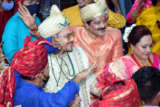 Aditya Narayan's wedding at ISKCON Juhu