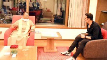 Akshay Kumar meets Uttar Pradesh Chief Minister Yogi Adityanath in Mumbai