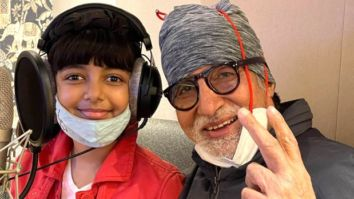 Amitabh Bachchan and Aaradhya Bachchan record music together, Abhishek-Aishwarya are proud parents
