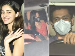 Ananya Panday, Katrina Kaif, Vicky Kaushal in party mode as they visit Karan Johar