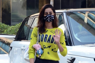 Ananya Panday spotted at Hyatt Residency Andheri