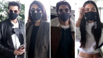 Anil Kapoor, Varun Dhawan, Kiara Advani, Neetu Singh, Anupriya snapped at Airport