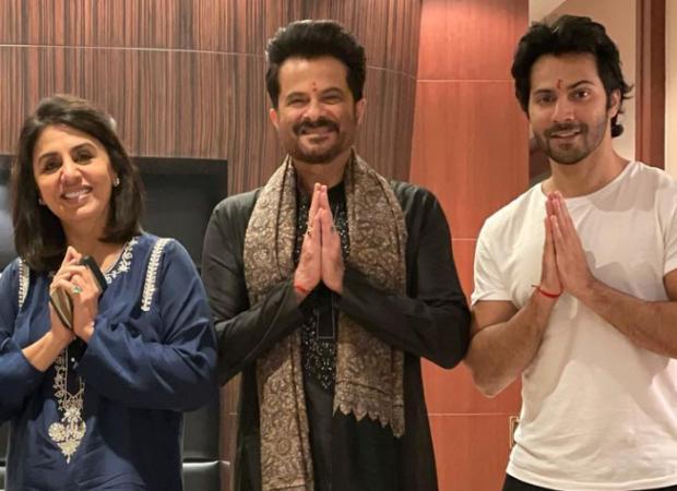तोड़ना!  चंडीगढ़ में जुग जुग जीयो के फिल्मांकन के बीच वरुण धवन, अनिल कपूर, नीतू कपूर और राज मेहता ने सकारात्मक परीक्षण किया