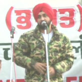 Diljit Dosanjh joins farmers protest at Singhu border, asks govt to accept demands by farmers