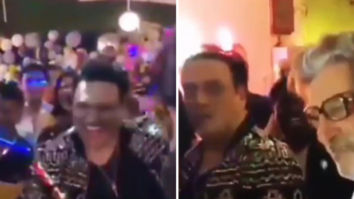 Govinda brings in his 57th birthday dancing to the tunes of his hit songs from the 90s; watch