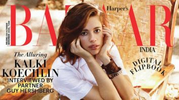 Kalki Koechlin On The Cover Of Harper's Bazaar