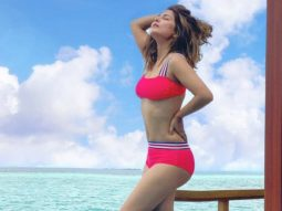 Hina Khan's pinkalicious bikini look from her Maldives' vacation is stunning!
