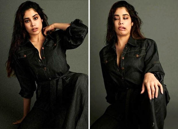 Janhvi Kapoor trying to keep it together in 2020 is basically all of us