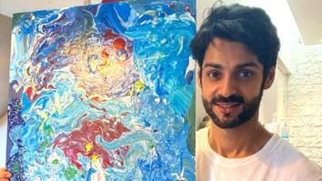 Karan Wahi to auction the painting inspired by his mother for Pragya Kapoor's Ek Saath – The Earth Foundation
