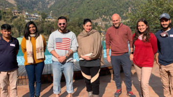 Kareena Kapoor Khan and Saif Ali Khan go out and about in Palampur along with Taimur Ali Khan
