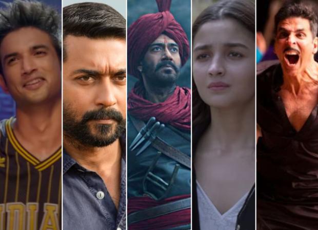 दिल बेचेरा, सोरारई पोटरु, तन्हाजी, सदाक 2, लक्ष्मी इन इंडिया पर 2020 में गूगल पर सबसे ज्यादा खोजी गई फिल्में