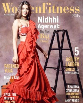 Nidhhi Agerwal On The Cover Of Women Fitness