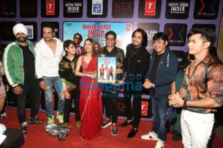 Photos: Celebs snapped at the launch of T-Series song 'Marda Saara India'
