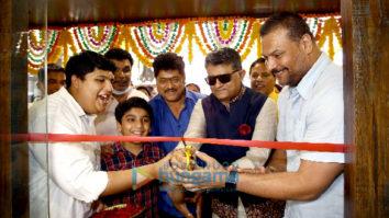 Photos: Gajraj Rao and Dayanand Shetty at the inauguration of Niranjan B Bhandary's Fab Cut unisex Salon in Oshiwara