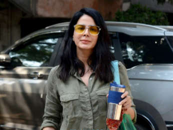 Photos: Kirti Kulhari spotted outside Black Frame Studios